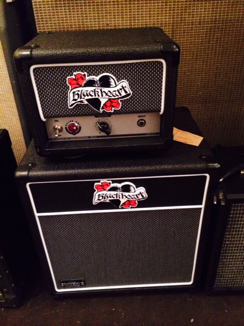 "New Blackheart ""Killer Ant"" and 1X10 Cab $350"